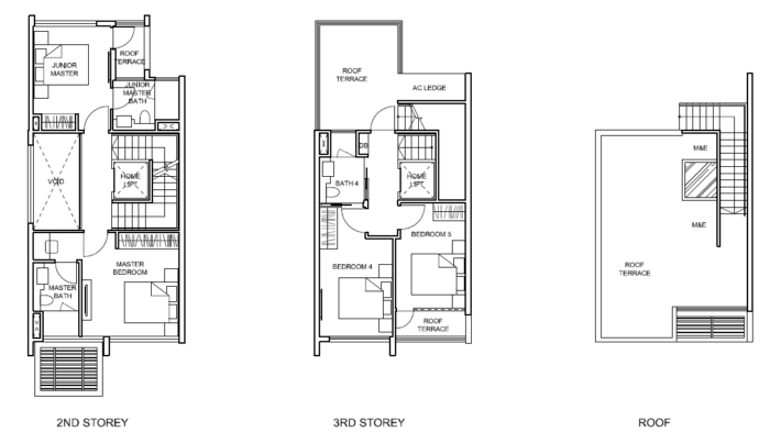 Belgravia Villas Floor Plans Developer Hotline 61000193
