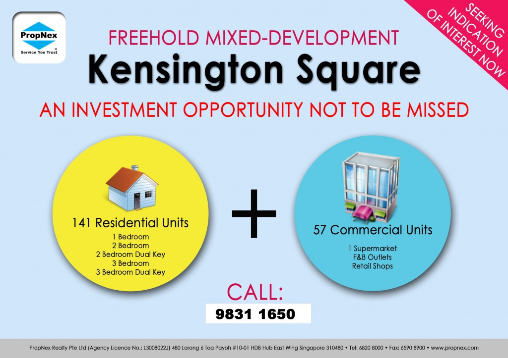 Kensington Square Flyer - Blank