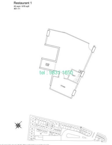 kensington - commercial floorplan