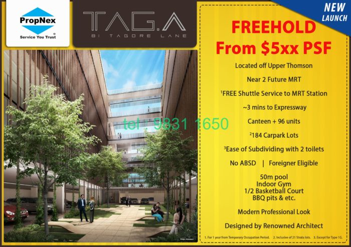 TagA Flyer front