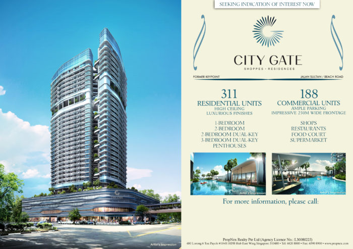City Gate - Front- blank