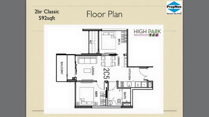 high park residences 2 room