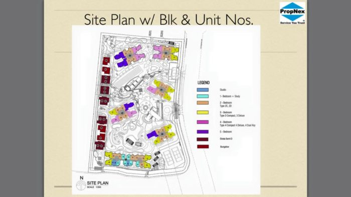 high park residences siteplan