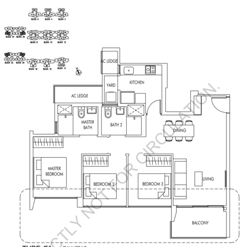 so; acres floorplan 3room