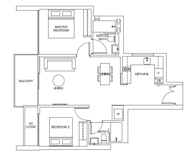 Venue-Residences-2-Bedroom-Suites