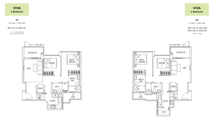 PARC BOTANNIA SHOWFLAT floor plan
