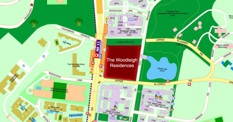 Woodleigh Residences showflat location