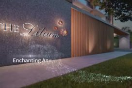 The Lilium showflat gate