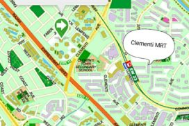 Parc Clematis Showflat location is near clementi mrt