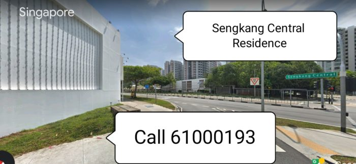 SENGKANG CENTRAL RESIDENCES IS NEXT TO MRT