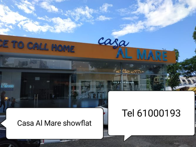 casa al mare showflat location front
