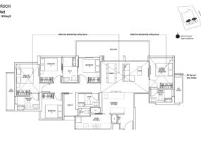Sky-Everton-showflat Floor-Plan-5-Bedroom