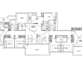 Sky-Everton-showflat Floor-Plan-6-Bedroom