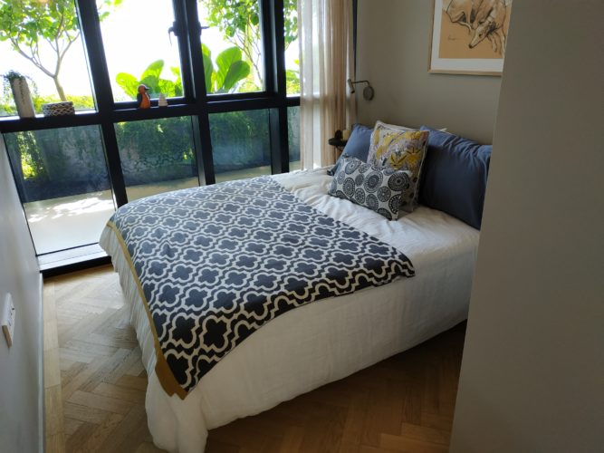JUI RESIDENCES SHOWFLAT BEDROOM