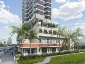 Jui Residences Freehold showflat next to kallang river
