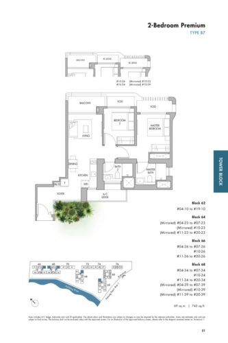 the tre ver 2-bedroom floor plan b7 layout