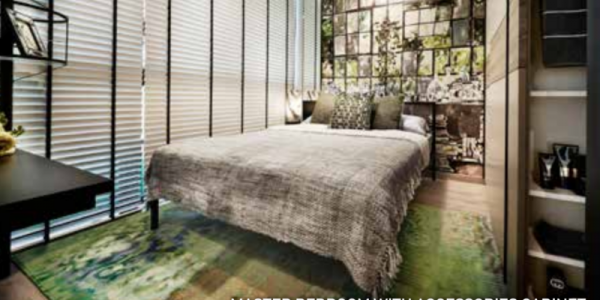 Tapestry showflat bedroom